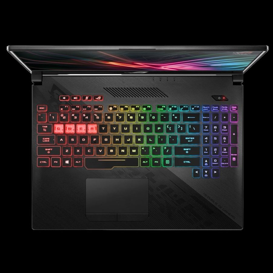 Asus ROG Strix HERO II клавиатура
