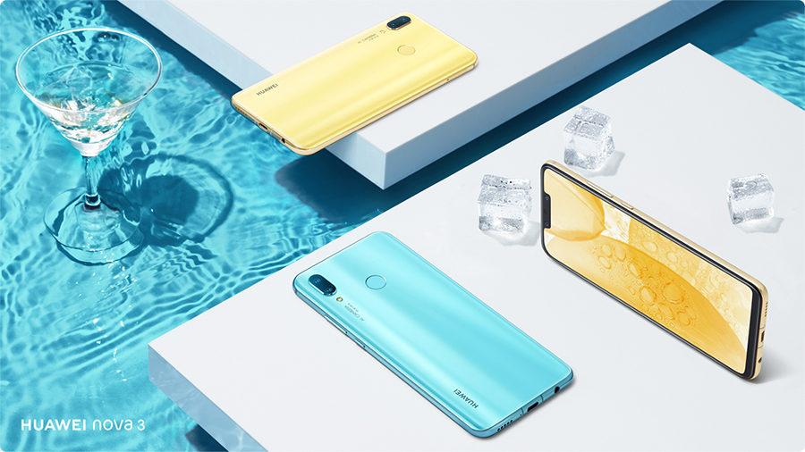 Дизайн Huawei Nova 3