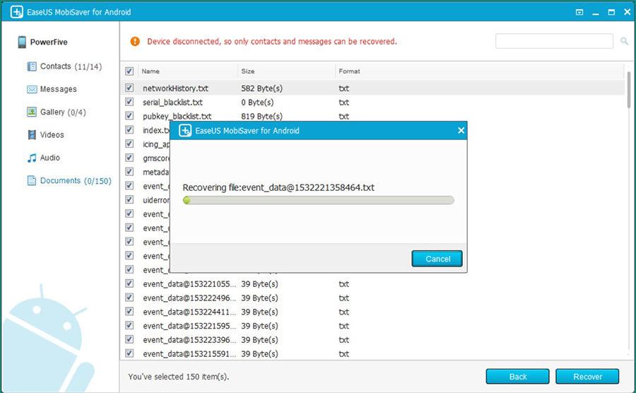 Последний шаг: восстановление удалённых файлов на компьютер