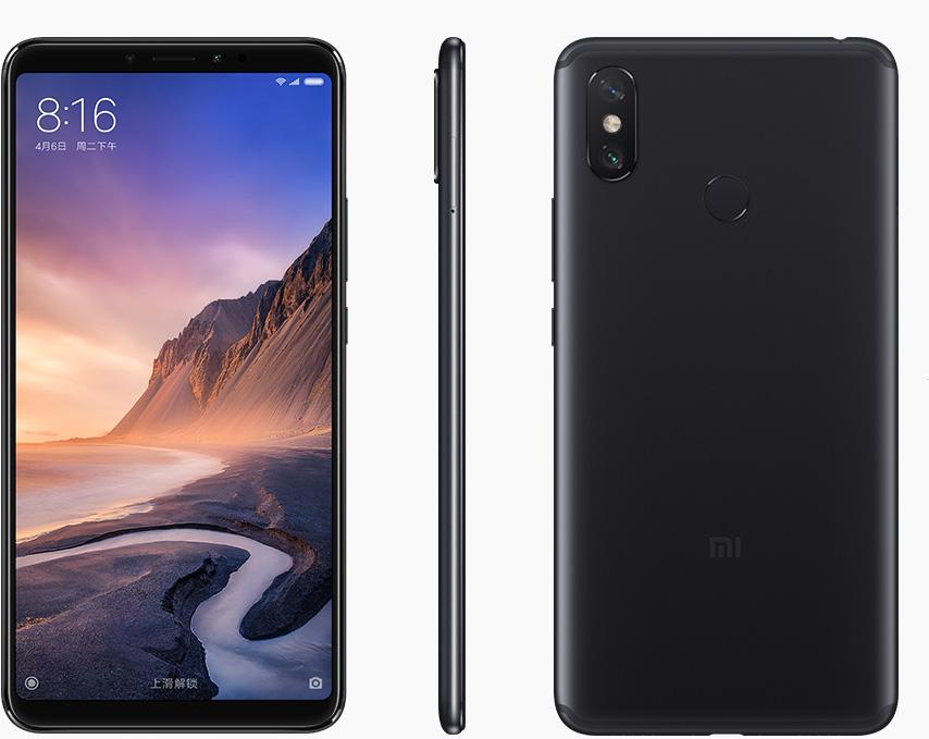 Чёрный Xiaomi Mi Max 3