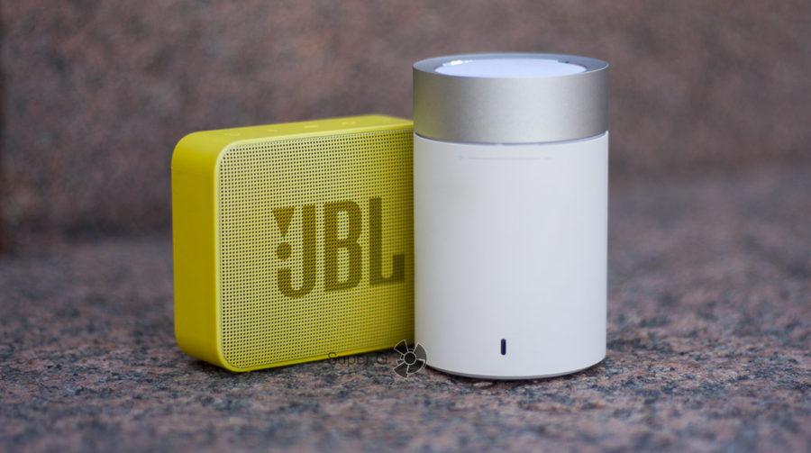 Звук JBL GO 2 и Xiaomi Mi Speaker 2
