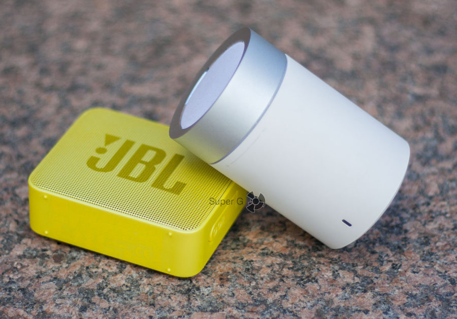 Дизайн Xiaomi Mi Speaker 2 и JBL GO 2