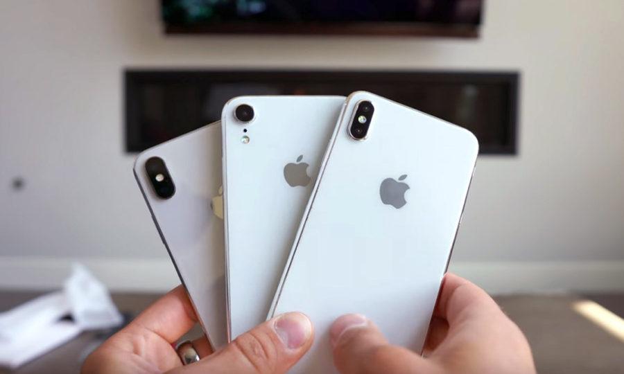 Три новых модели iPhone 2018