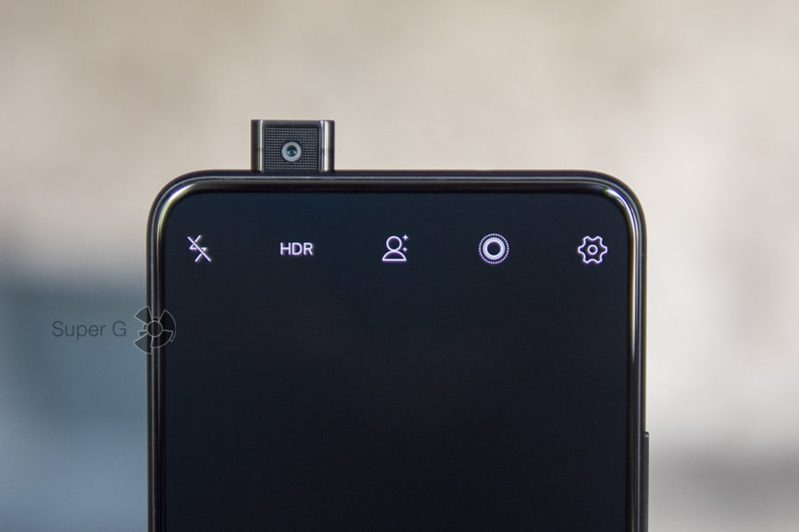 Фронтальная камера Vivo NEX выдвигается только по необходимости