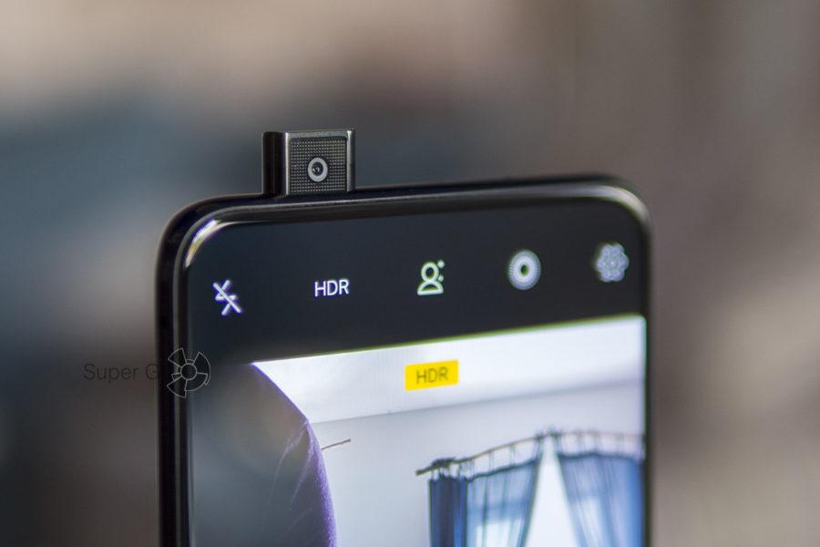 Выдвигающаяся фронтальная камера Vivo NEX
