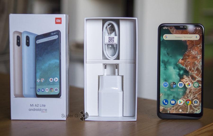 Комплектация Xiaomi Mi A2 Lite
