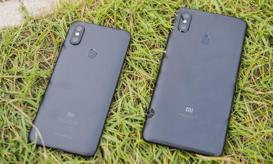 Xiaomi Mi A2 (слева) и Xiaomi Mi Max 3 (справа)