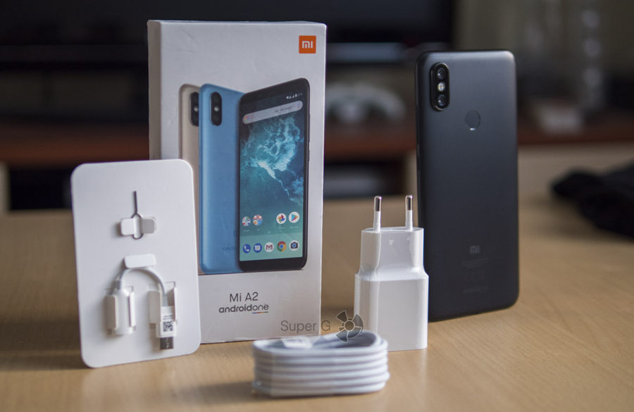 Комплектация Xiaomi Mi A2