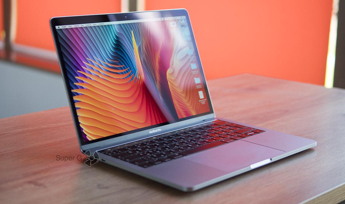 Thue Tone экран MacBook Pro 13 2018