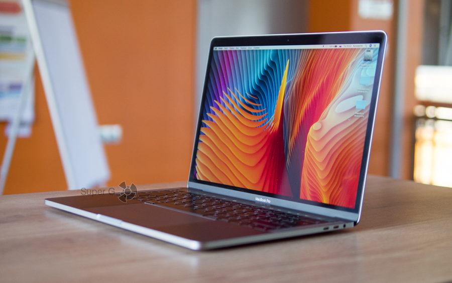 Retina дисплей MacBook Pro 13 2018