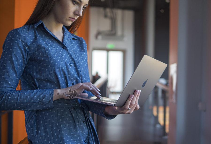 Удобно ли работать за MacBook Pro 13 2018?