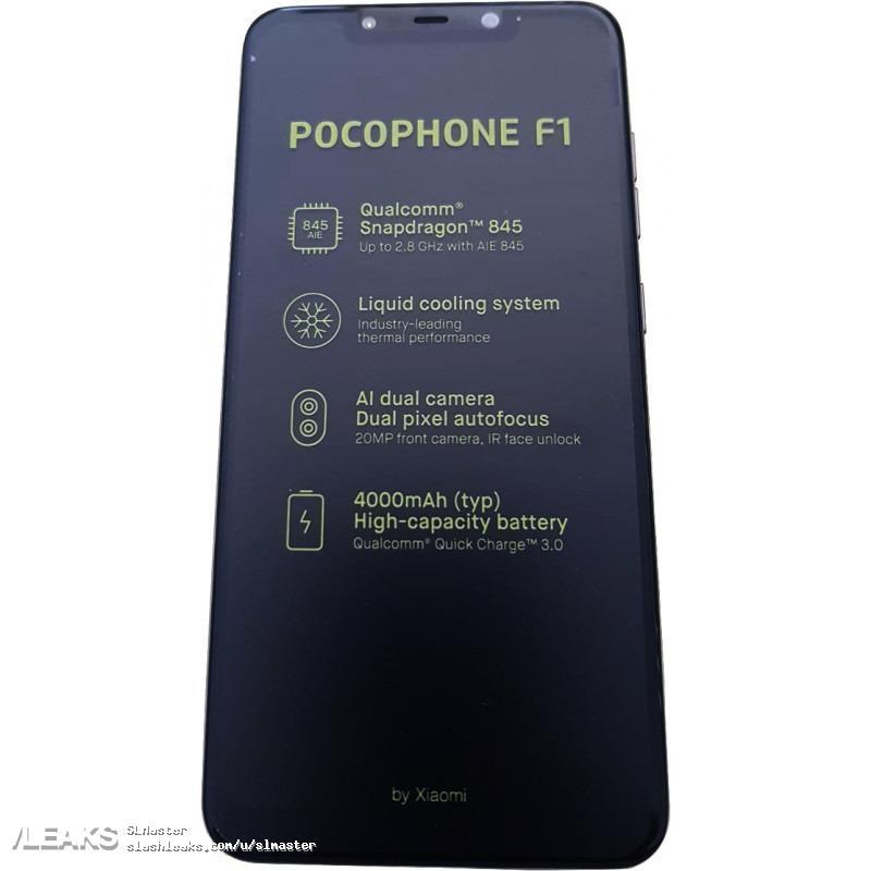 Pocophone F1 смартфон