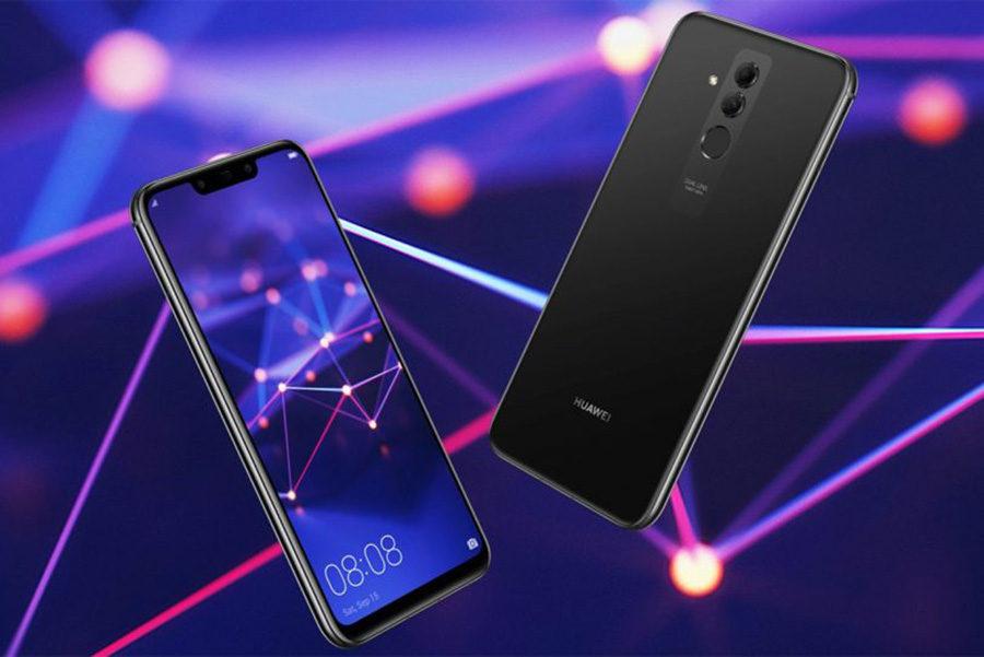 Дизайн Huawei Mate 20 Lite