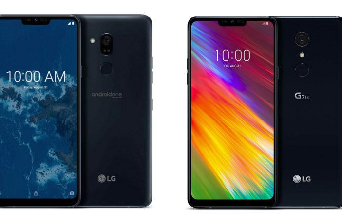 Цена LG G7 One и LG G7 Fit