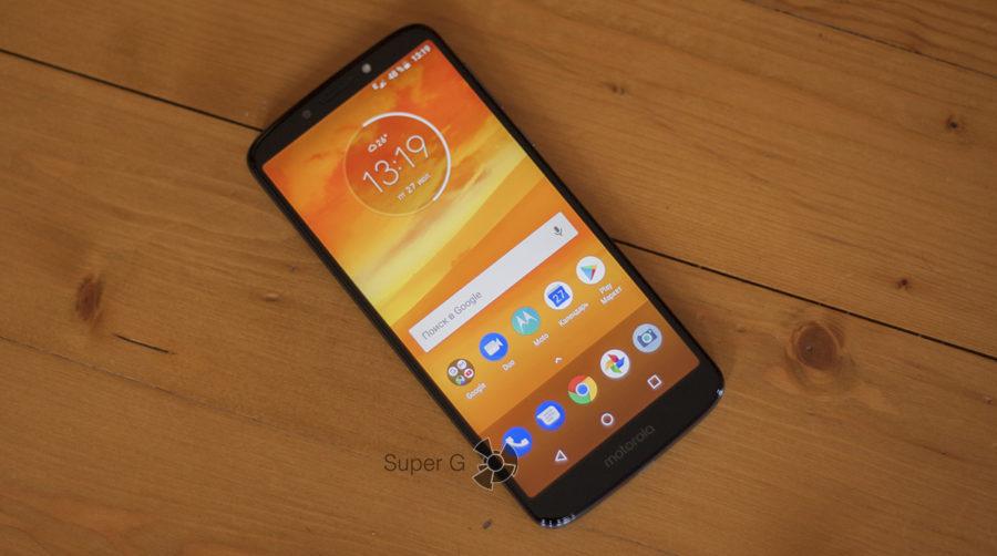 Экран Motorola E5 Plus