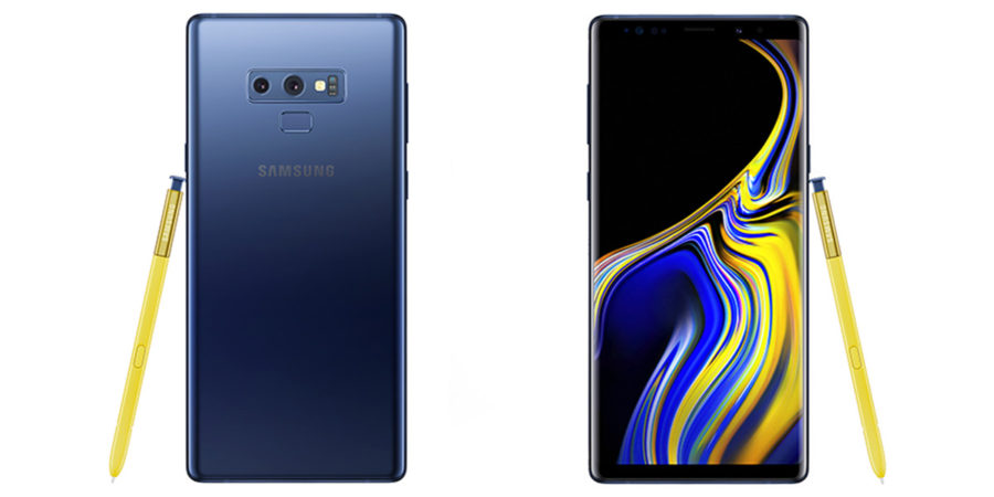 Samsung Galaxy Note 9 индиго