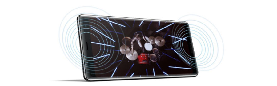 Стереодинамики Sony Xperia XZ3