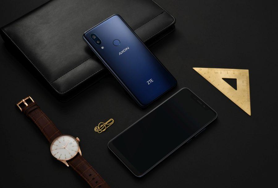 Дизайн ZTE Axon 9 Pro