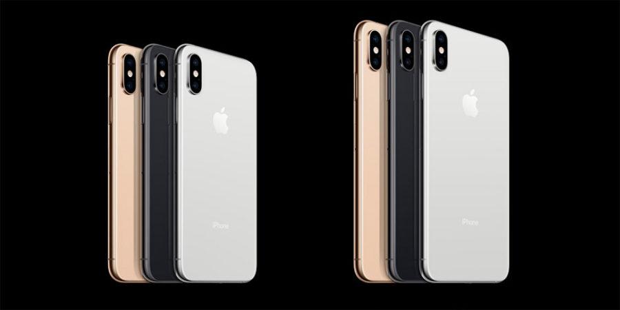 Все новые модели iPhone 2018