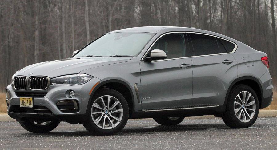 BMW X6 2018 model