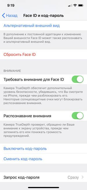 В память iPhone X Plus можно внести ещё одно лицо Face ID
