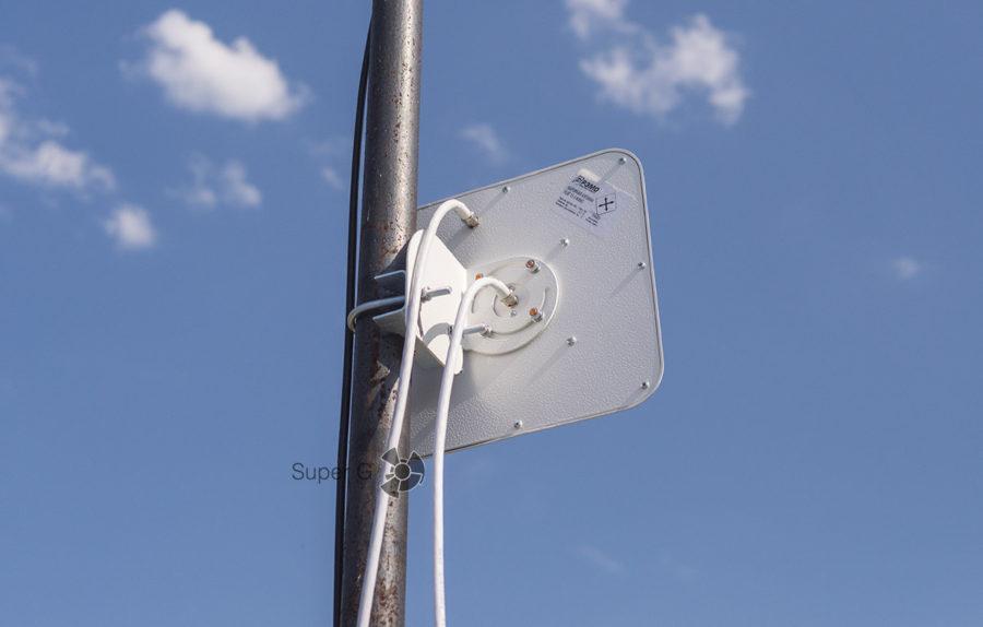 Подключение антенны к коаксиальным кабелям