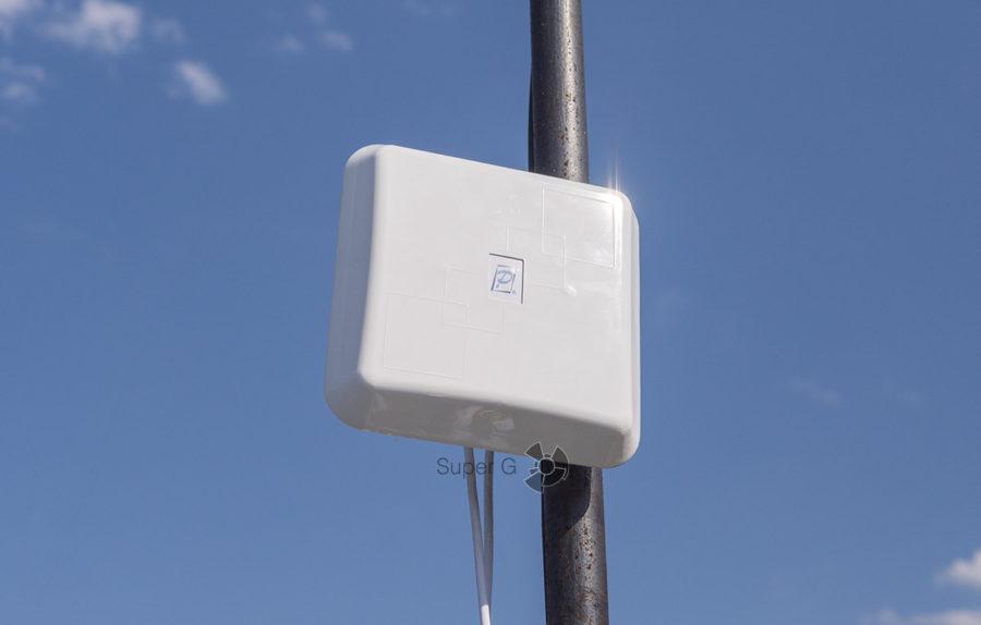Антенна для интернета на даче от РЭМО