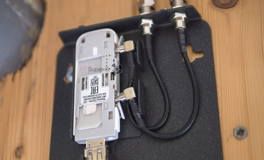 Подключение USB-модема к двум коаксиальным кабелям