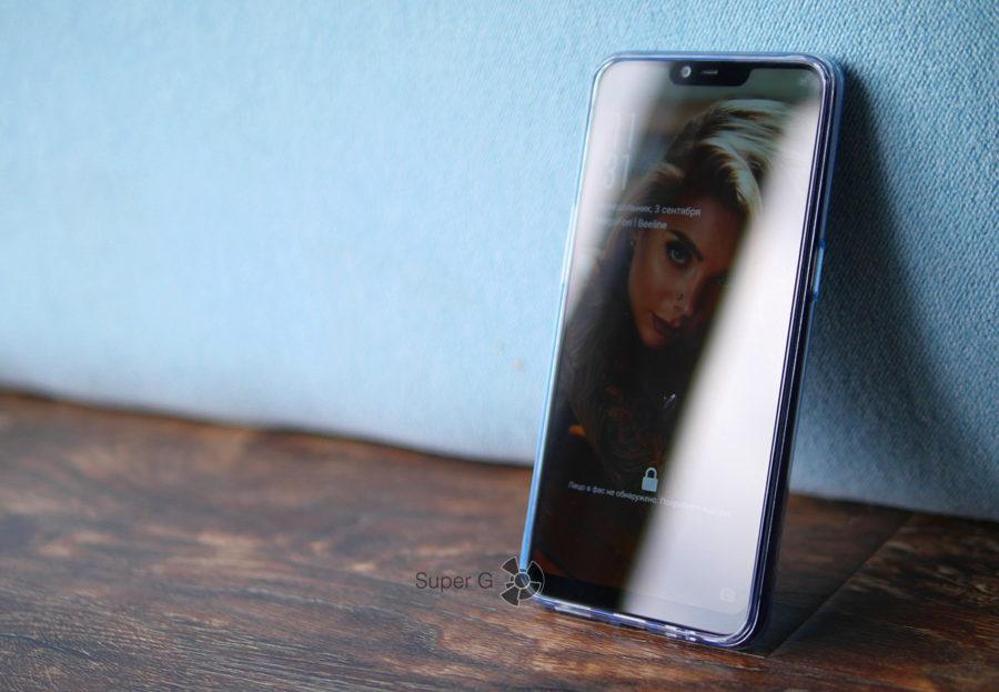 Чехол для Oppo A3s из комплекта