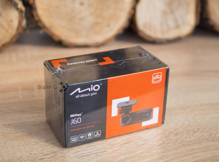 Коробка из-под Mio MiVue J60
