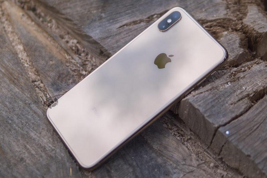 Купить iPhone XS Max золотой