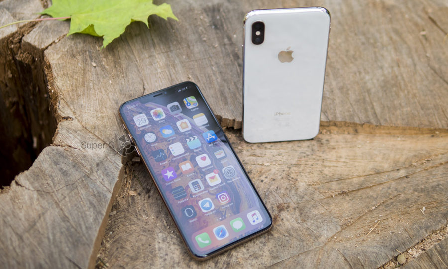 Apple iPhone XS Max и iPhone X