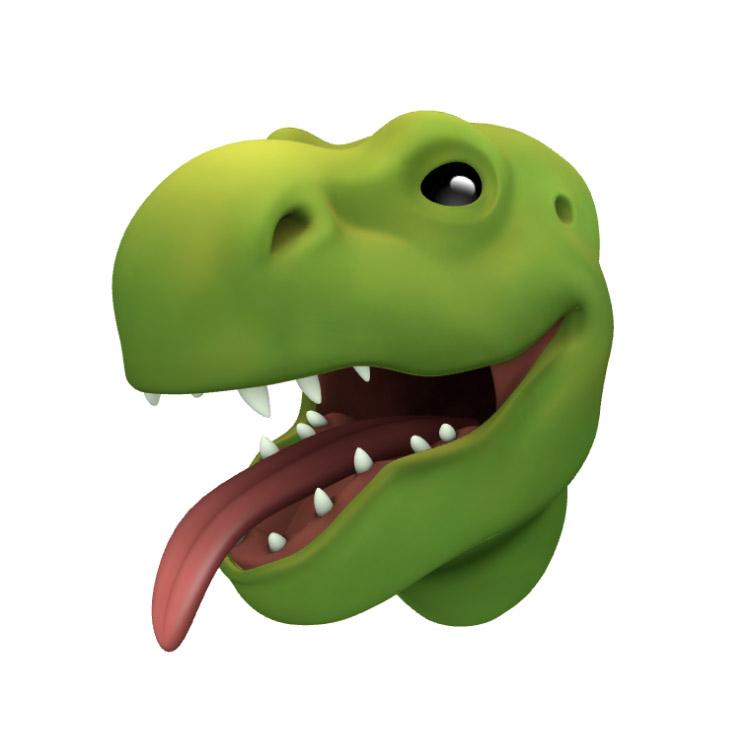 Тиранозавр Animoji