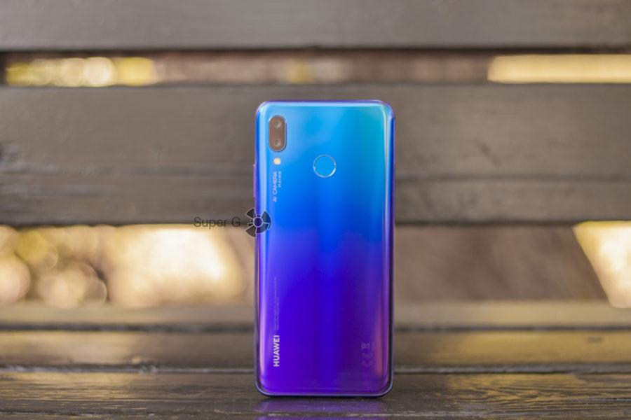 Цвет Huawei Nova 3