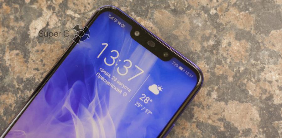 Чёлка Huawei Nova 3 Notch