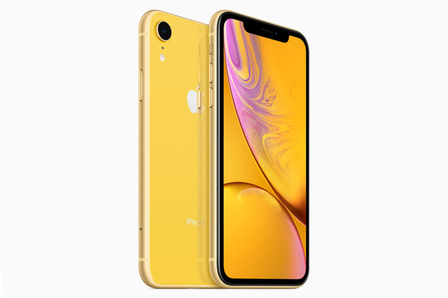 iPhone XR жёлтый