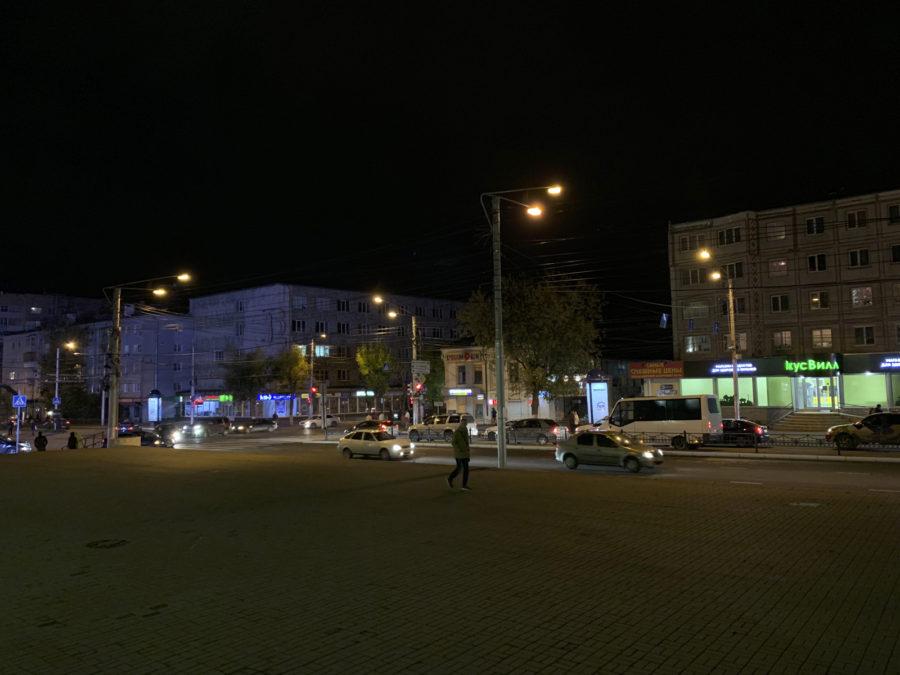 Ночной город - iPhone XS Max