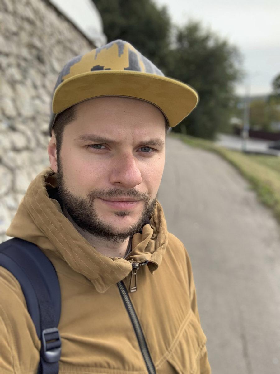 Портретный режим фронтальной камеры iPhone XS Max