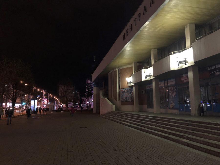 Ночной снимок с камеры iPhone X - сравнение с iPhone XS Max (2)