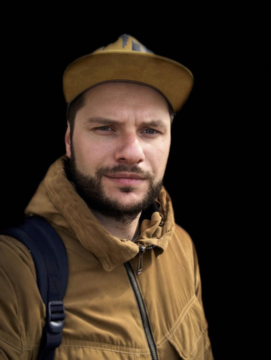 Фронтальная камера, портретный режим на iPhone X, сценический свет