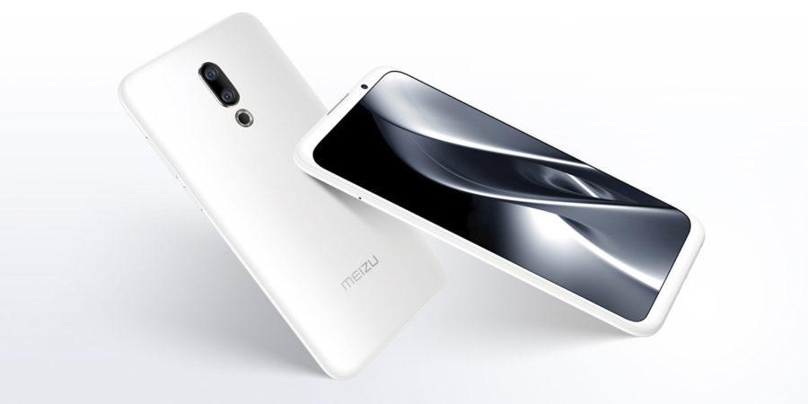 Белый Meizu 16X