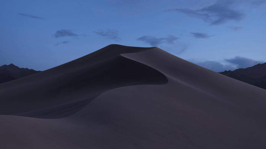 Динамические обои в macOS Mojave - утро