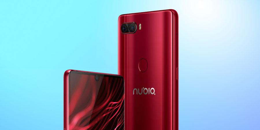 Красный Nubia Z18