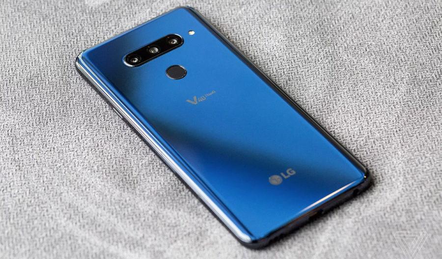 Цена LG V40 ThinQ