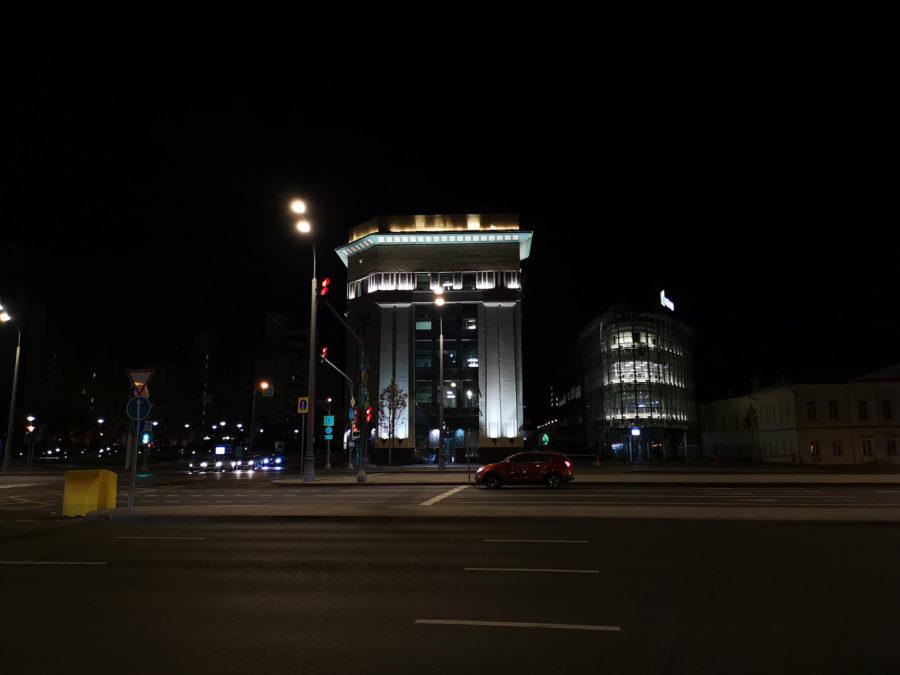 Ночное фото с камеры Huawei Mate 20 Pro
