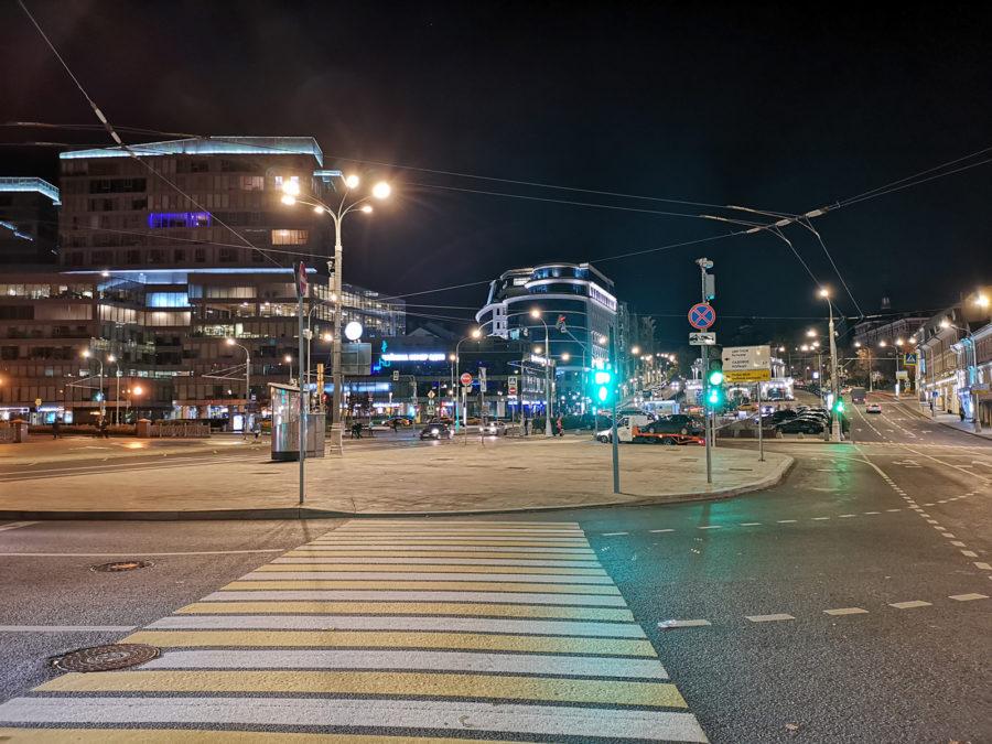 Режим Ночь - снято на Huawei Mate 20 Pro