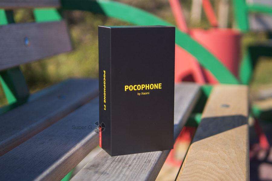 Коробка из-под Pocophone F1