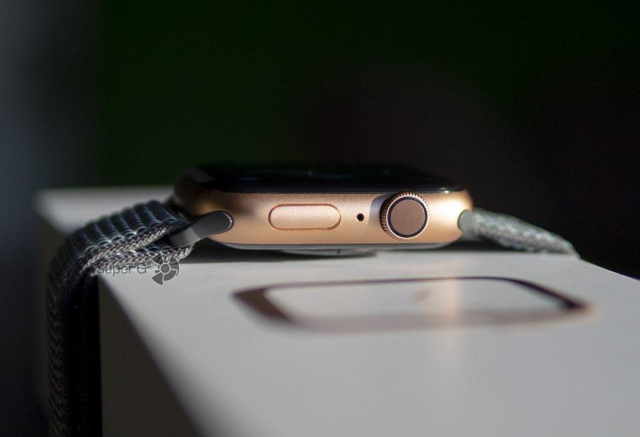 Кнопка и цифровая коронка с виброотдачей в Apple Watch Series 4