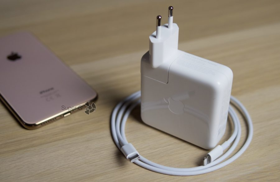 Быстрая зарядка для iPhone XS Max - как получить? Как это работает?