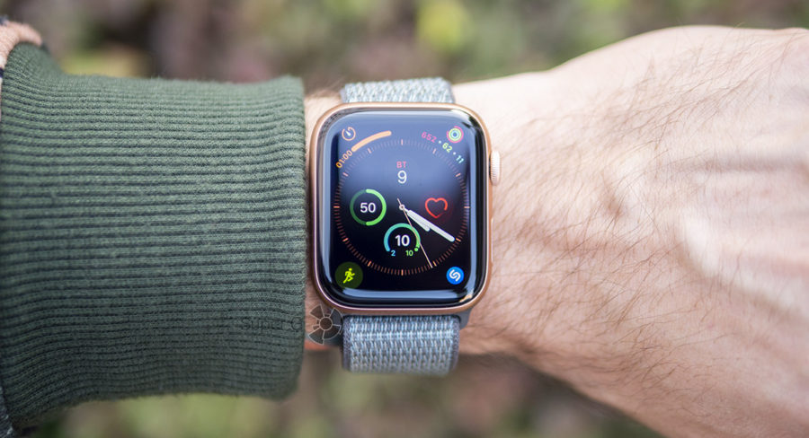 Инфограф Apple Watch Series 4